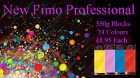 FIMO Professional 350g Polymer Clay 24 Colours For Modelling Jewellery Craft Art image