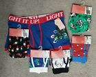 NWT Mossimo Christmas boxer briefs Gnome Cow Penguin small medium large extra