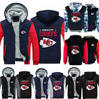 Kansas City Chiefs Fans Hoodie Fleece Zipper Coat Winter Jacket Warm Sweatshirt@ $29.34 USD on eBay