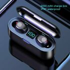 Wireless Bluetooth 5.0 Earbuds Earphone mini Headset Noise Cancelling Waterproof