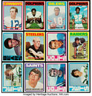 1972 Topps Football Cards singles EX $2 ea. #1-132 U-Pick FREE SHIPPING !!!! $2.0 USD on eBay