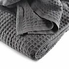 JMR Cozy Waffle Weave Blanket | Cotton Medium Weight Hotel Throw Blankets... image