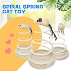 D99D Small Fish Funny Cat Toy Spring Cat Toy Home Interactive Sturdy