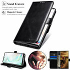 For Samsung Galaxy J3 J7 (2017) (2018) Leather Wallet Stand Thin Slim Case Cover