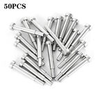"""1/8"""" Cable Railing Set Stainless Steel Invisible Receiver Swage Stud End Fitting"""