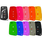 Silicone Protective Rubber Cover Case Remote Flip Key Keyless Fob Toyota 3 Btn $6.59 USD on eBay