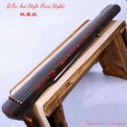 """Cinnabar Red 48"""" Guqin 7-stringed Zither Heptachord opt. Stool and Table #1542"""
