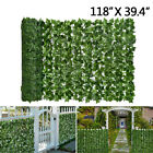 3.3x9.8ft Faux Ivy Leaf Decorative Privacy Fence Screen Artificial Hedge Fencing