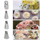 1 PC Stainless Steel Flowers Baking Russian Nozzle Juju Tulip Icing Piping Tips