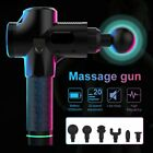 LCD Therapy Massage Gun Percussive Vibration Muscle Massager Sport Recovery Case $64.85 USD on eBay