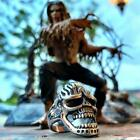 'Under the Graveyard' Big, Bold & Heavy Stainless Steel Skull Ring (139)