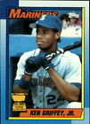 Ken Griffey Jr. Baseball Cards You Pick Choose 1989-1994 Rookies RC MarinersBaseball Cards - 213