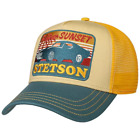 Stetson Trucker Baseball Cap In A Choice Of Colours & Prints Adjustable Snapback