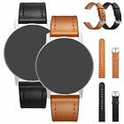 For ASUS Zenwatch Withing Genuine Leather Watchband Stainless Steel Buckle 18 mm comprar usado  Enviando para Brazil