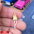 RaceMedal 1:64 scale figures diorama Low-key uncle fresh girl  model 1/64collect