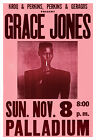 Grace Jones 1981 concert poster print $14.5 USD on eBay