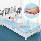 For 2''3'' Twin Gel-Infused Memory Foam Bedding Orthopedic Mattress Topper  image