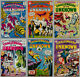 CHALLENGERS OF THE UNKNOWN LOT AN UNBROKEN RUN OF SILVER AGE COMICS #40-#87