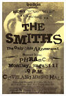 The Smiths 1986 concert poster print