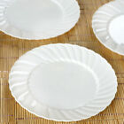 """Hard Plastic 8"""" ROUND PLATES Party Wedding Catering Disposable TABLEWARE SALE"""