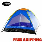 Dome Tent 2 Person Small Camping Hiking Shelter Outdoor Camp Beach