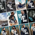 JAMES BOND: NO TIME TO DIE Movie PHOTO Print POSTER 007 Cast Art Character Film $6.7 AUD on eBay