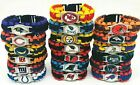 "🏈?🏈?🏈 ?? ALL NFL TEAMS EMERGENCY PARACORD SURVIVAL BRACELET 9""� 🏈?🏈?? ?? $8.95 USD on eBay"