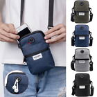 Mens Travel Messenger Bag Shoulder Bag Briefcase Bag Handbag Small Crossbody