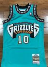 Mitchell and ness Vancouver Grizzlies teal hardwood classics swingman jersey on eBay