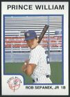 1987 ProCards Prince William Yankees Minor League Baseball card PICK your playerBaseball Cards - 213