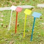 T-type Plastic Yard Plant Labe Stake Plant Nursery Stick Tool Stable Garden Q2y8