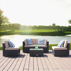5-PCS-Patio-Rattan-Wicker-Sofa-Set-Cushioned-Sectional-Couch-Furniture-Outdoor