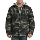 Dickies Men's Relaxed Fit Icon Hooded Duck Quilted Shirt Jacket Style# TJ203 HRC