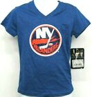 NHL New York Islanders Girls V Neck T Shirt - Choose Size $12.99 USD on eBay