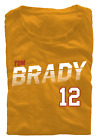 Tom Brady T-Shirt Tampa Bay Buccaneers Regular/Soft Jersey 12 NFL Throwback $16.95 USD on eBay