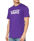 Vans - Mens T-shirt - Purple/White
