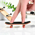 Child Professional Complete Wooden Mini Fingerboard Finger Skate Board Maple Toy