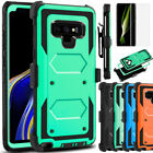 For Samsung Galaxy Note 9 S8 S10 S20 Plus 5G Shockproof Clip Holster Case Cover