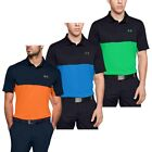 Under Armour Mens 2020 Performance 2.0 Colorblock Wicking Polo Shirt 40% OFF RRP