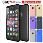 For Iphone Se 2020 8 7 Plus 360° Protective Case Cover With Screen Protector