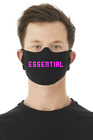 Essential Worker BELLA+CANVAS USA Face Mask COVER CLOTH Multiple Color Words