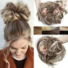 100% Real Women Chignon Natural Thick LARGE TOUSLE BUN Hair Extensions as Human