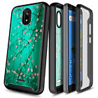 For BLU Wiko Ride / AT&T Radiant Core Phone Case Built-In Screen Protector Cover