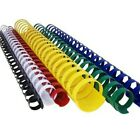 Plastic Comb Binding, 19 Ring - Assorted Colors and Sizes - Huge Savings!