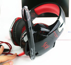 3Color Stereo Surround 3.5mmLED Gaming Mic Headset For PC Laptop PS4Xbox+Adapter
