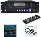 Home Theater Preamplifier Receiver Audio/Video System CD/DVD FM/AM Player Pyle