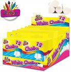 Pack+of+12+White+Artbox+Chalks+in+Hanging+Box+-+Use+with+blackboard