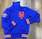 New York Mets Mitchell & Ness Authentic MLB Track Jacket on Ebay