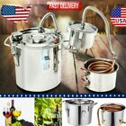 Moonshine Still 5Gal Water Alcohol Distiller Home Brewing Wine Making Kit 3/2Pot