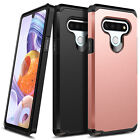 Kyпить For LG Stylo 6 (2020) Case Ultra Slim Dual Layer Hybrid Phone Cover на еВаy.соm